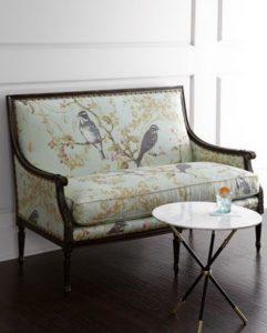 εντυπωσιακοί καναπέδες ρομαντική διακόσμηση σπιτιού