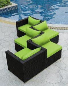 μοντέρνοι καναπέδες πισίνα