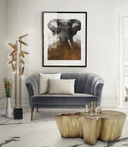 βελούδινοι καναπέδες