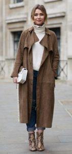 γυναικείο ντύσιμο μακρύ παλτό