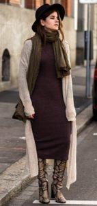 χειμωνιάτικο γυναικείο ντύσιμο μπότες print δέρμα φιδιού