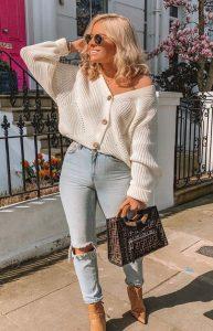 γυναικείο ντύσιμο με κοντή ζακέτα