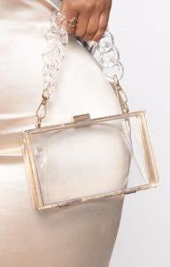 διαφανής τσάντα