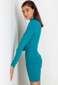 εφαρμοστό φόρεμα mini