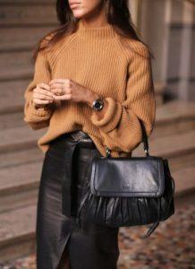 μαύρη γυναικεία τσάντα
