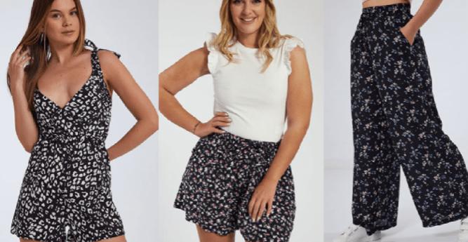 γυναικεία σορτσάκια ολόσωμες φόρμες