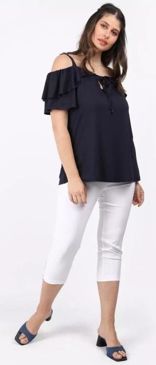 cold shoulder μπλούζα μεγάλο μέγεθος