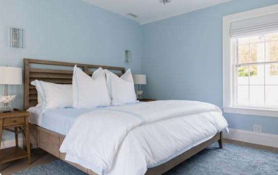 ξεκούραστα χρώματα για υπνοδωμάτιο μπλε ανοιχτό