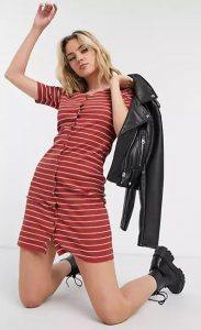 ριγέ φόρεμα 2