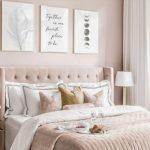 ξεκούραστα χρώματα για υπνοδωμάτιο απαλό ροζ τοίχους