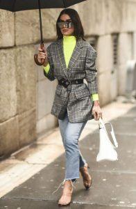 μοντέρνο look με σακάκι