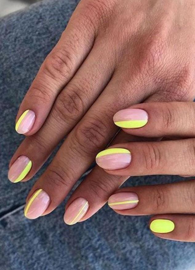 neon νύχια