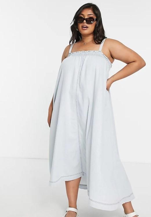 ριχτό καλοκαιρινό φόρεμα