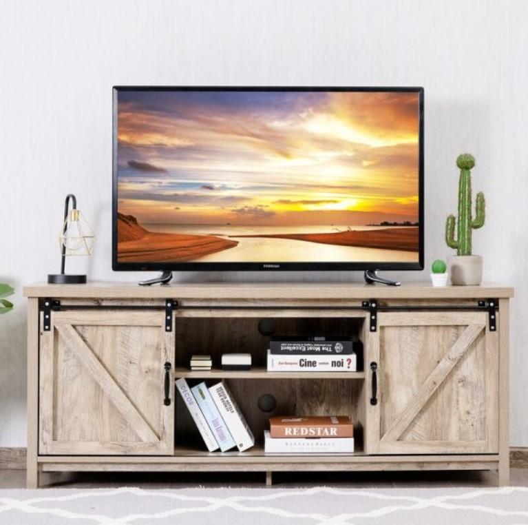 ρουστίκ έπιπλο τηλεόρασης
