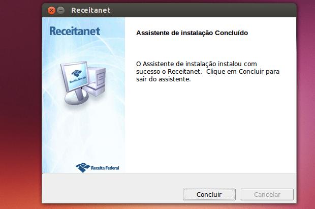 Receitanet no Linux