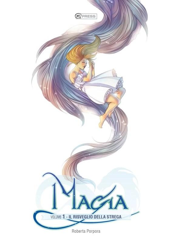 Magia1 - di Roberta Porpora - copertina del volume in collaborazione con NuPress