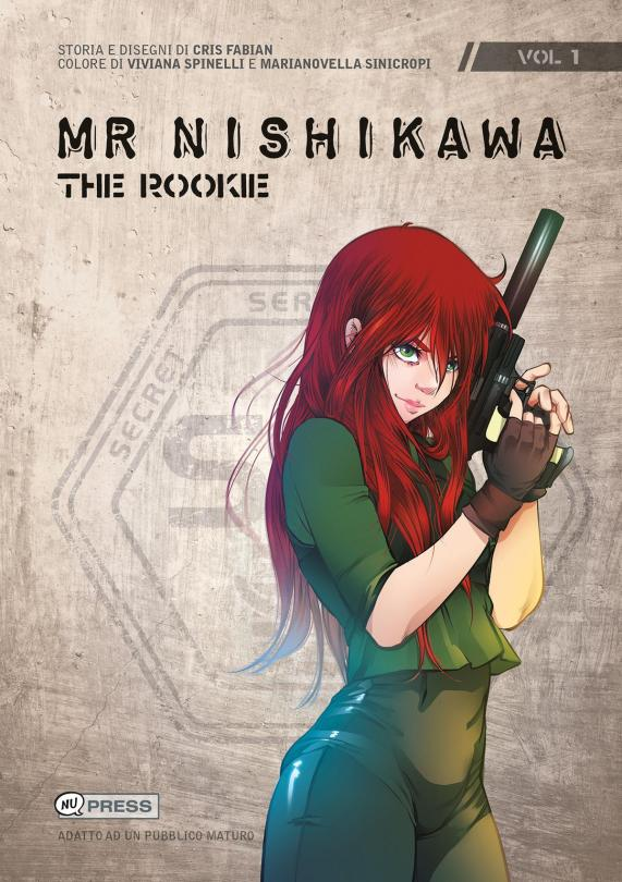 mr. Nishikawa - The Rookie - Copertina del volume