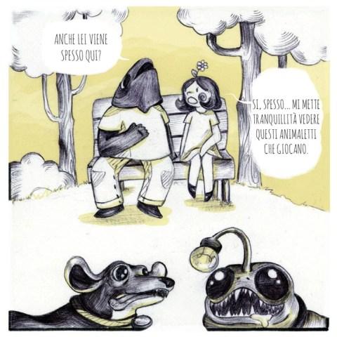 Fish Fingers - © Federico Scaglioni (storia) e Anna Ferrara (disegni)