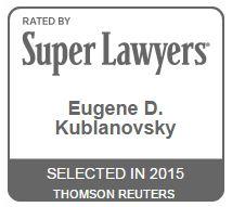 SuperLawyers 2015 Badge