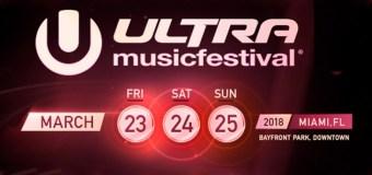 Ultra Music Festival 2018 – Noi ci saremo [LineUp Completa]