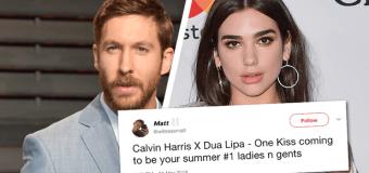 #Release | Calvin Harris e Dua Lipa insieme per l'estate 2018