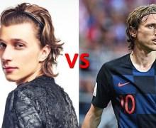 Shapov e Modric – incredibilmente somiglianti