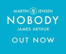 #Release | Martin Jensen, James Arthur – Nobody