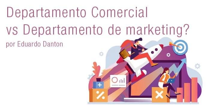 departamento comercial vs departamento de marketing