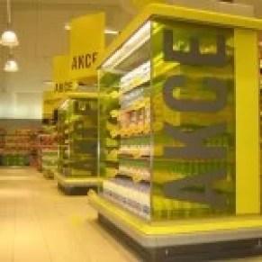 Supermercado Albert/Hypernova na República Tcheca