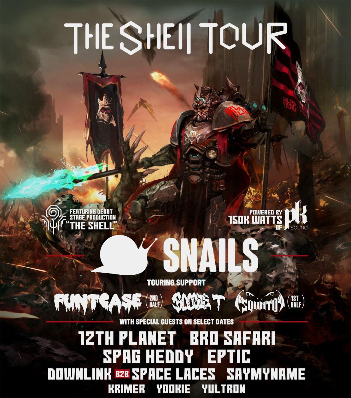 Snails Album The Shell