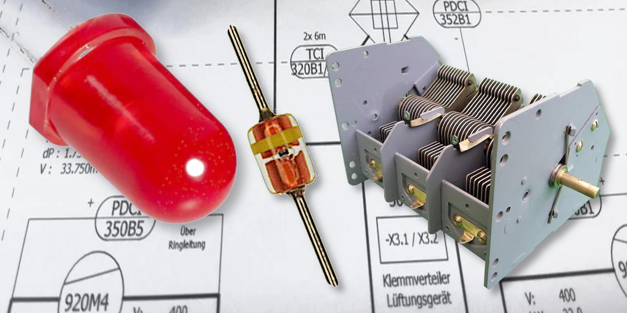 Diodi LED usati come Varicap