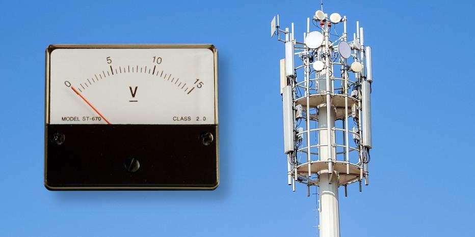 Misuratore di campo per trasmettitore radio