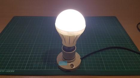 Lampadina LED fai-da-te (lampada a LED)