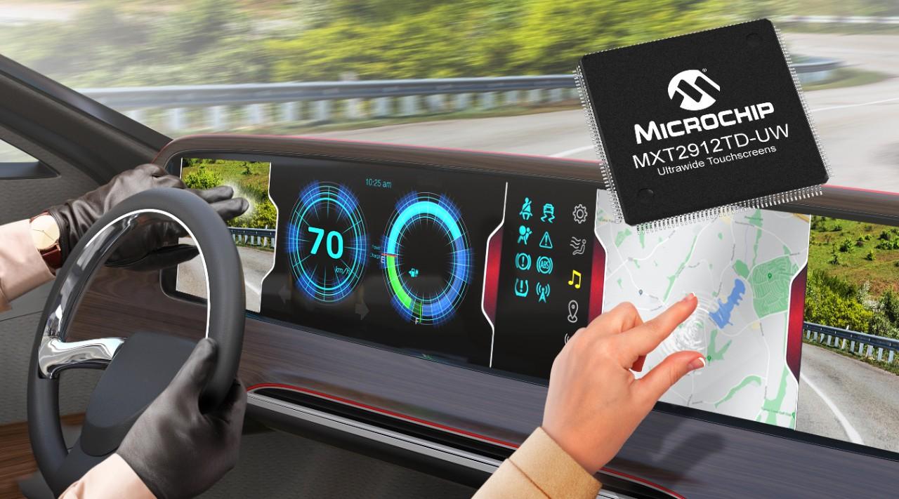 Soluzione a Chip Singolo per Display Touch Ultrawide