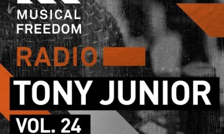 Tony Junior Debuts New Mix on Musical Freedom Radio!