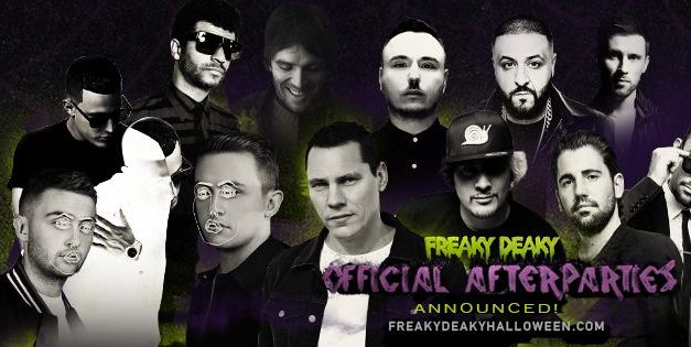 Freaky Deaky 2016 || Pre & After Parties Announced!