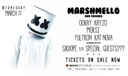 Marshmello And Friends @ Soho Studios    Event Preview & Giveaway