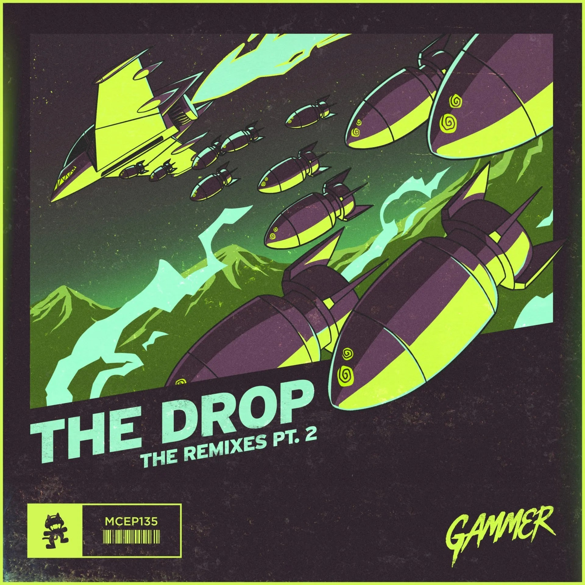 Gammer's 'THE DROP' Pt  II remix package on Monstercat is here