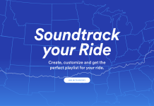 Spotify Soundtrack your Ride