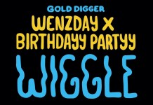 Birthdayy Partyy Wenzday Wiggle Gold Digger