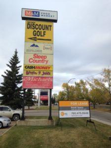 Edmonton For Sale Signs