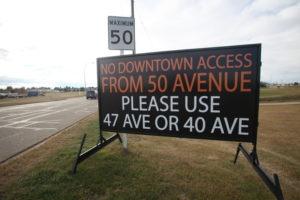 Road Construction Signs Edmonton