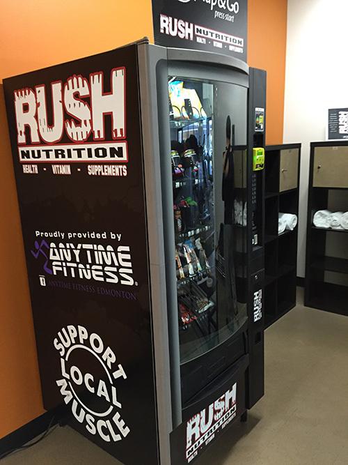 Rush Vending Machine