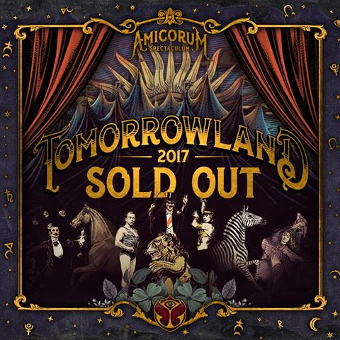 Tomorrowland Sold Out