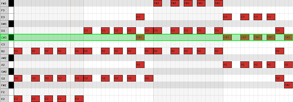 chord sequence