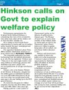Hinkson calls on Govt to explain welfare policy - 2015-04-20 - Barbados Today - Page 7