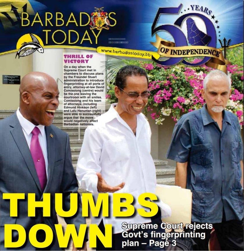 2016-06-30-BarbadosToday-Cover