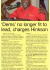 Dems no longer fit to lead, charges Hinkson - 2016-07-04 - Barbados Today - Page 4