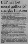 DLP has lost moral authority, charges Hinkson - 2017-03-15 - Midweek Nation - Page 14A