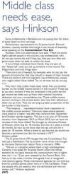 Middle class needs ease, says Hinkson - 2013-11-28 Barbados Today - Page4